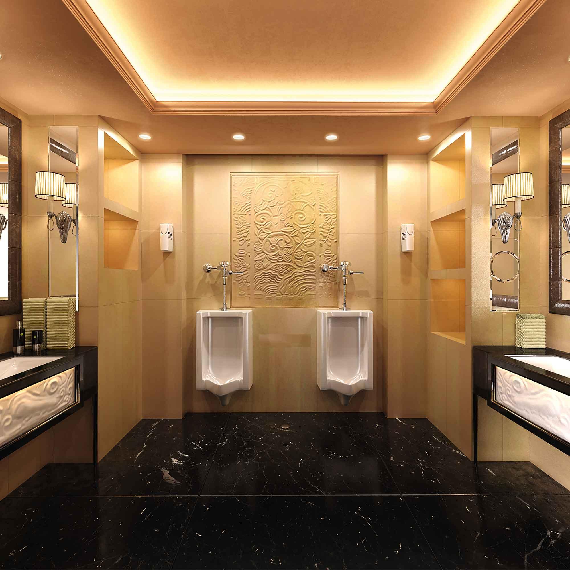 V-Air SOLID in Washroom