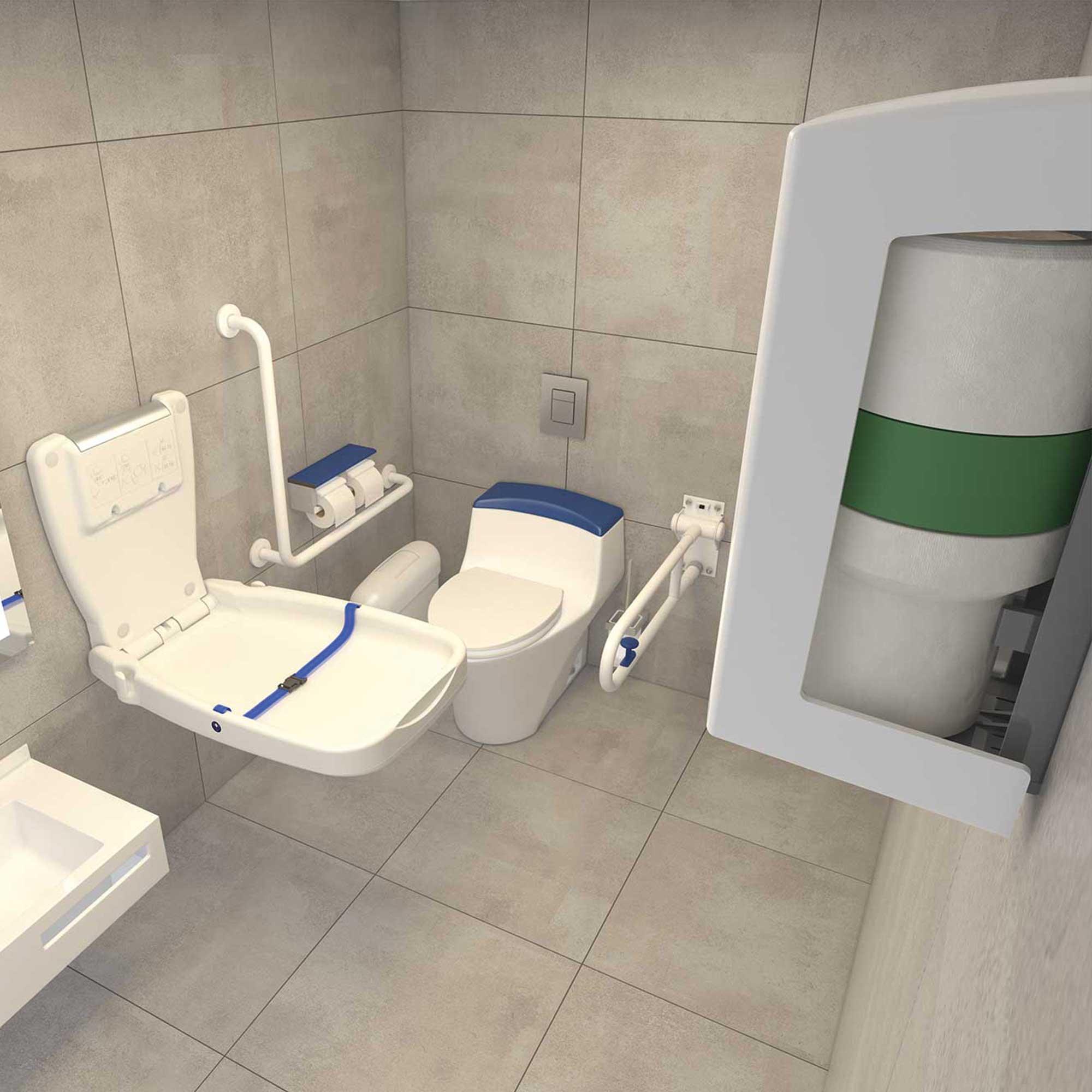 V-Air® SOLID MVP disabled restroom