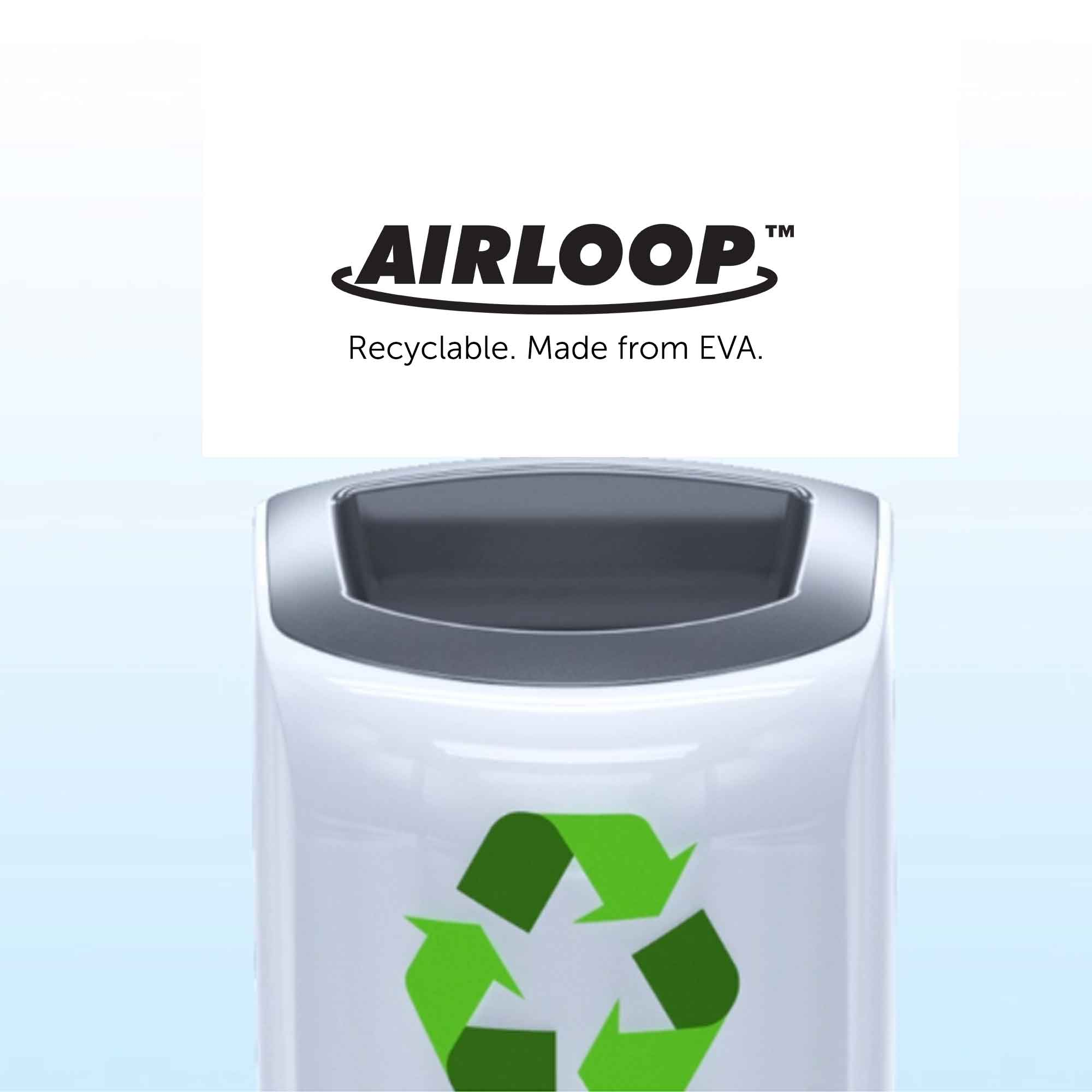 Airloop Toilet Bowl Clip Recyclable