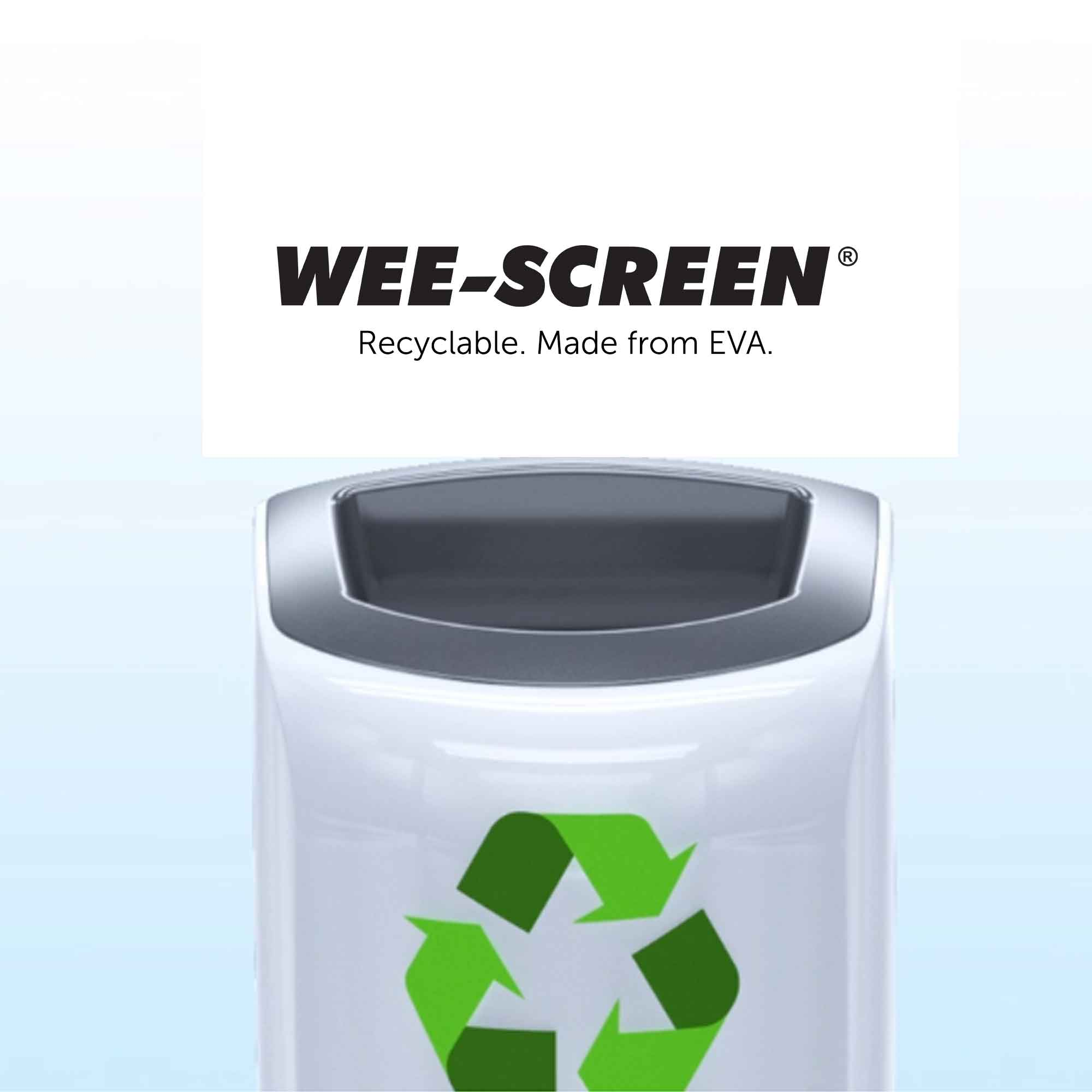 Wee-Screen® 30 Day Urinal Screen UK Recyclable