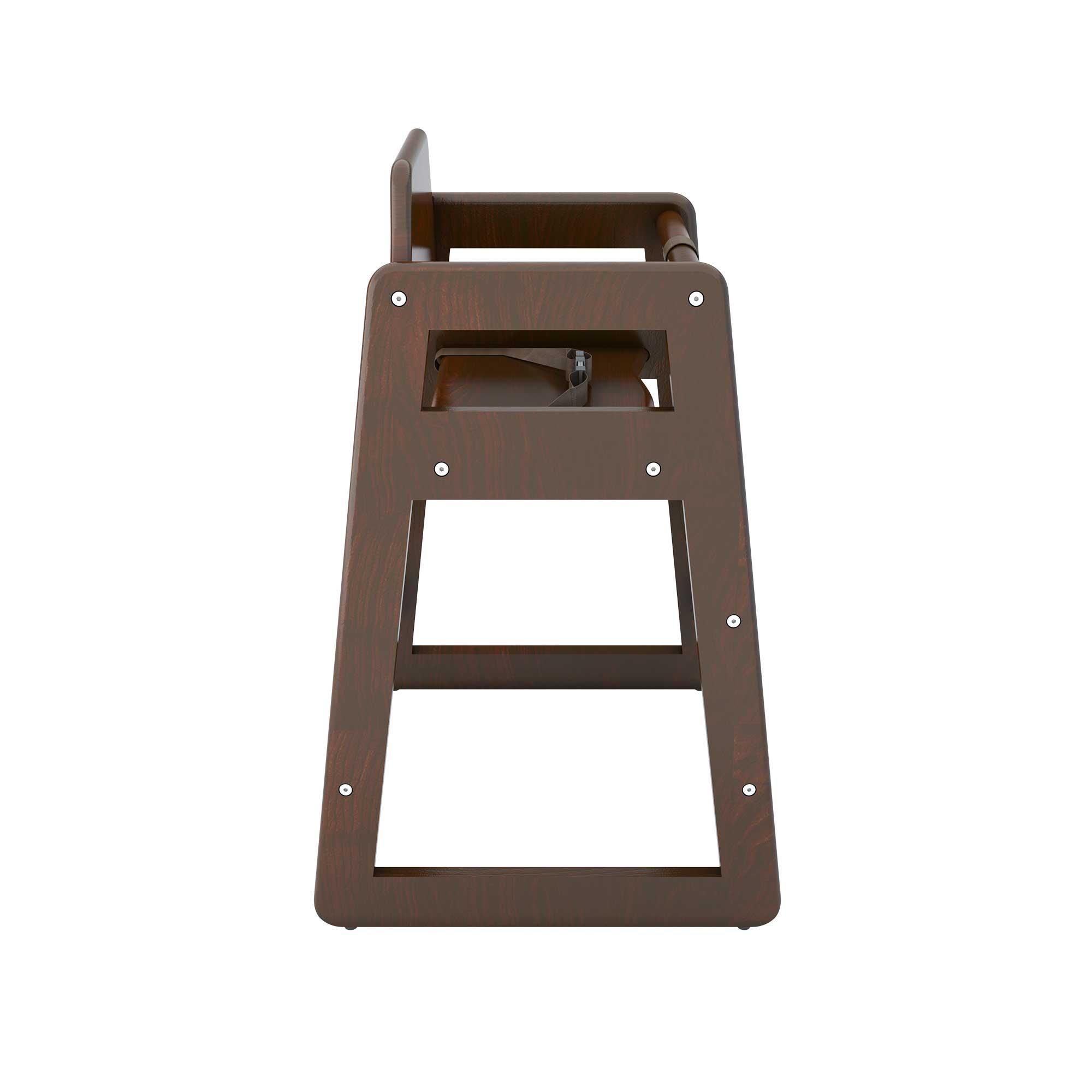 Babyminder High Chair - Walnut