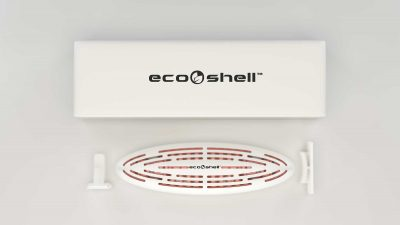 Eco Shell® Clip and go, clip and throw™ Technology.