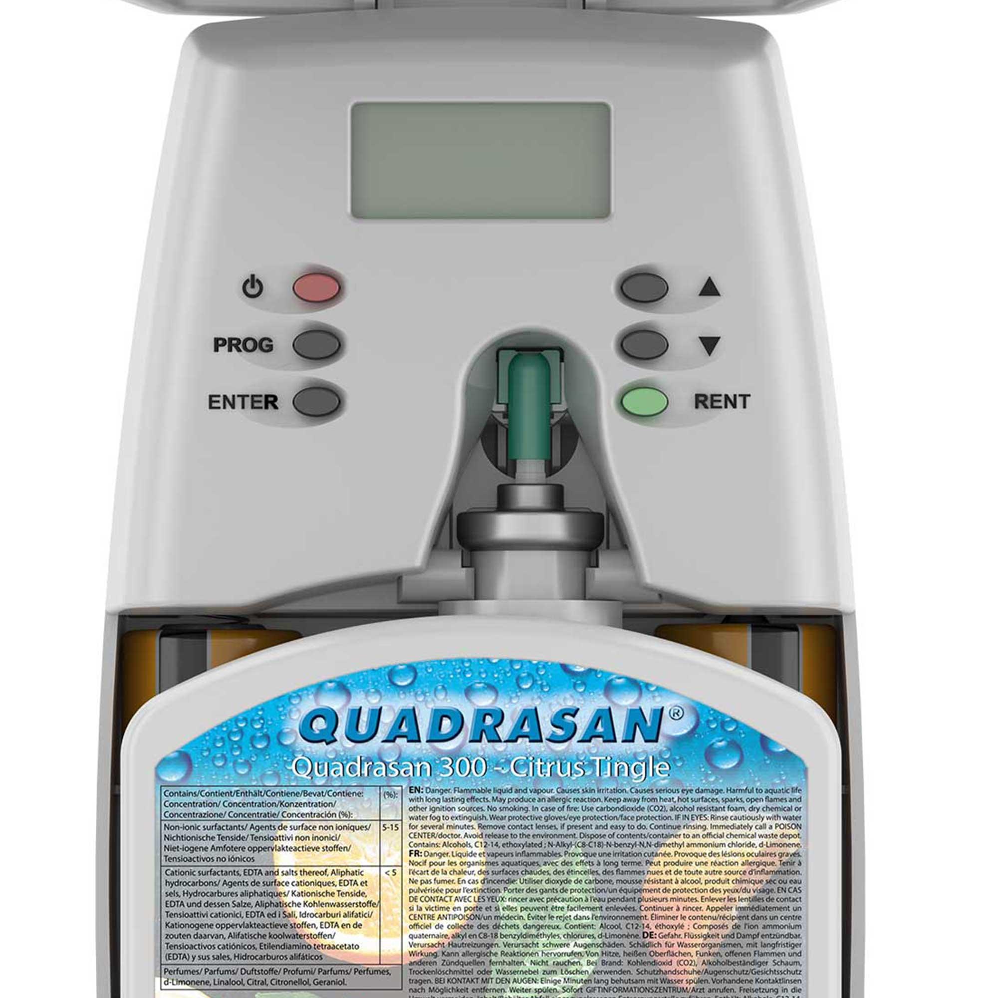 Quadrasan® Dispenser | Programming Guide