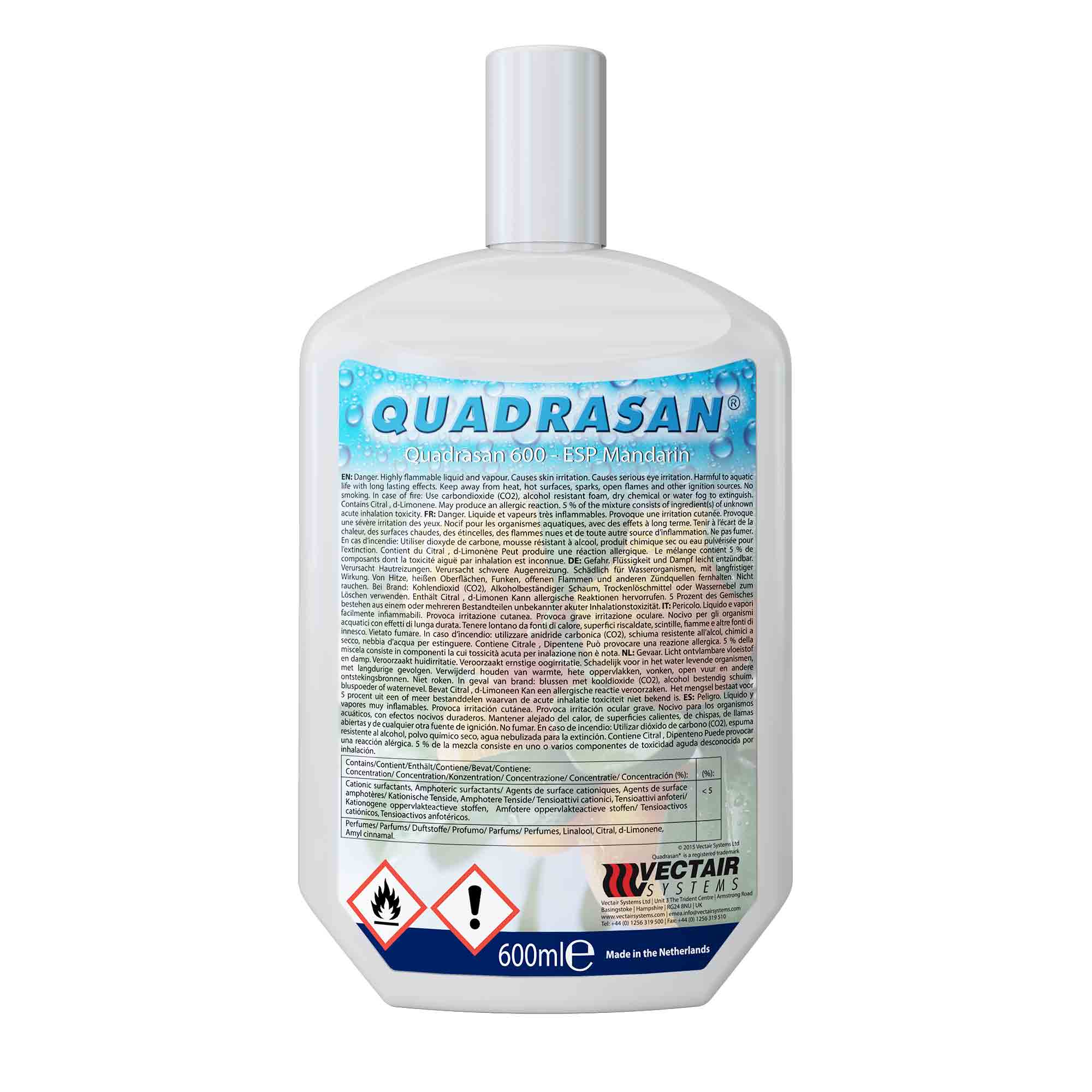 Quadrasan® Cleaning & Dosing Refills