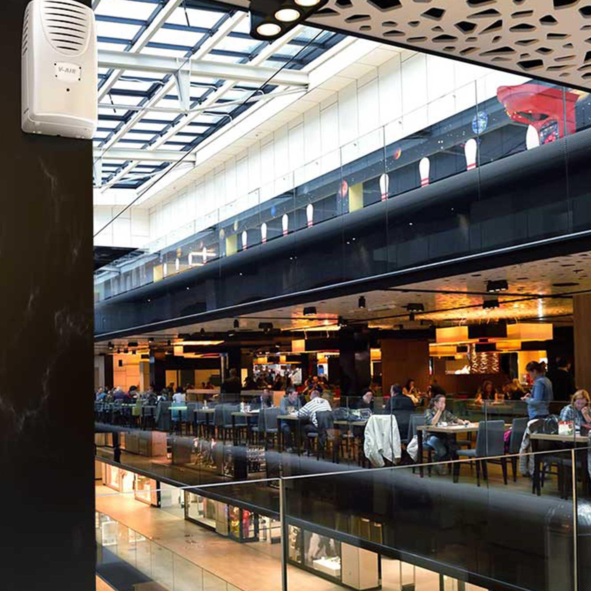 Shopping Malls - V-Air SOLID Plus - Restaurants