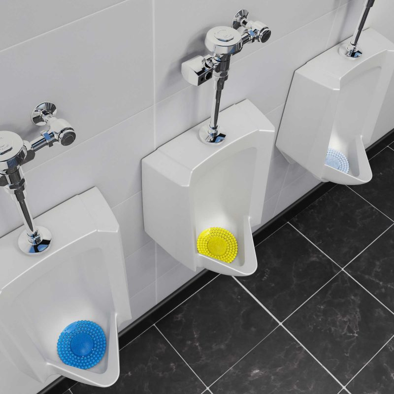 P-Screen Washrooms - attractions ISSA Innovation Award