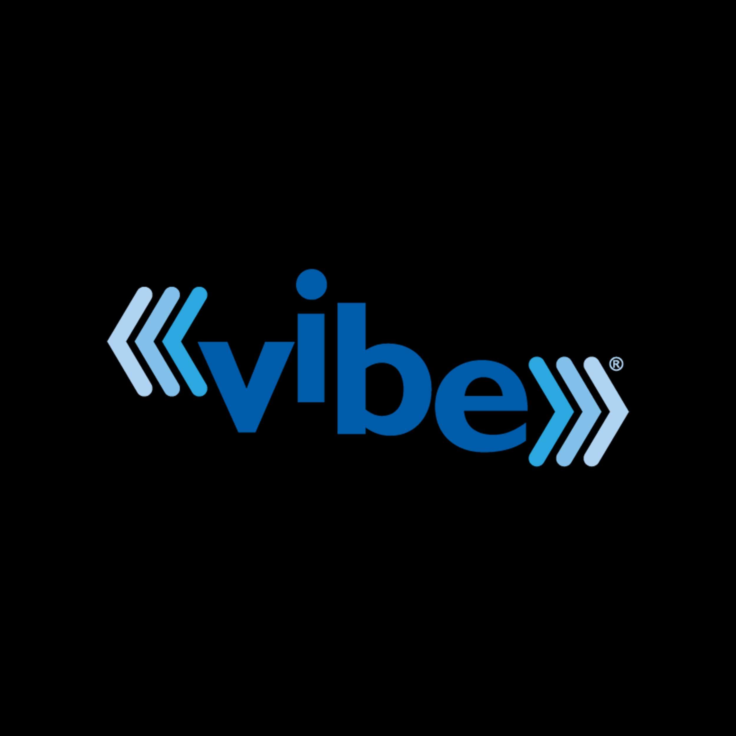 VIBE Logo - Vibrating Mesh Technology