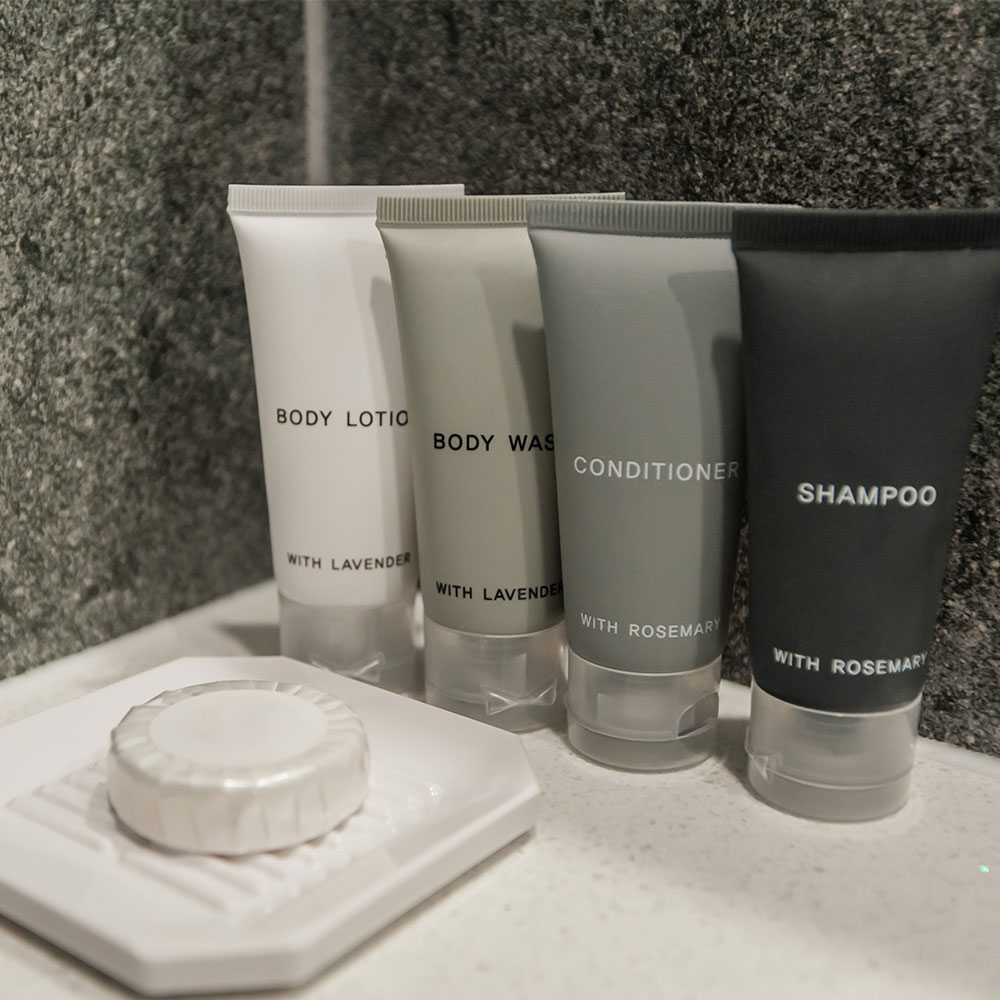 Hotel mini toiletries